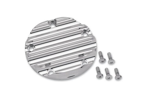 Covingtons Points Cover for '99-Up Twin Cam Models -Chrome
