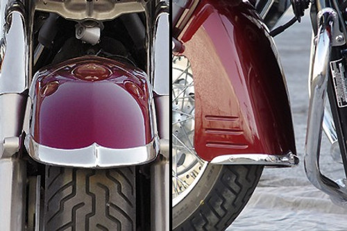 National Cycle Front Fender Tips/Trim for VTX1300R/S '03-up - 2pc. Set