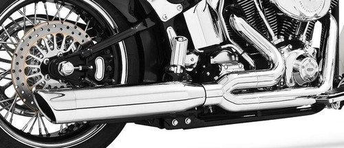 Freedom Performance Exhaust Union 2-Into-1 for '86-17 Softail  Chrome