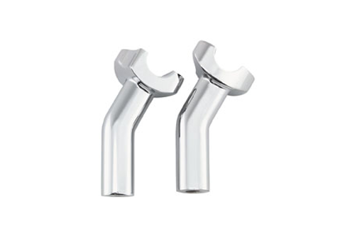 Biker's Choice Pullback Risers -Chrome