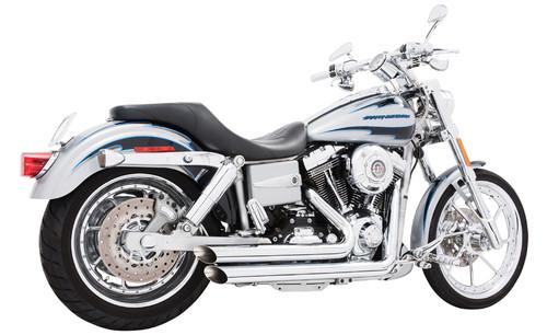 Freedom Performance Exhaust Amendment Slash Cut for Dyna'91-05 -Chrome