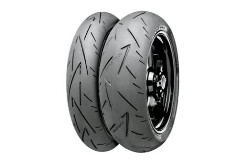 Continental Tires Conti Sport Attack 2 REAR 180/55ZR-17 (73W) -Each