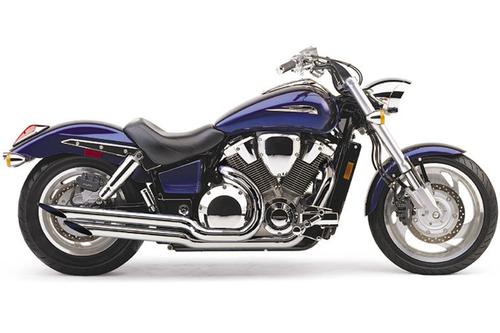 Cobra  Angled Slash-Cut Exhaust for VTX1800C '02-up and VTX1800F '05-up