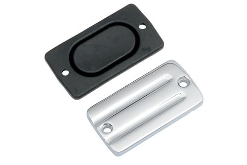 Drag Specialties Front Brake Master Cylinder Cover for '82-84 Shovelhead, '84-85 Big Twin & '86-95 XL