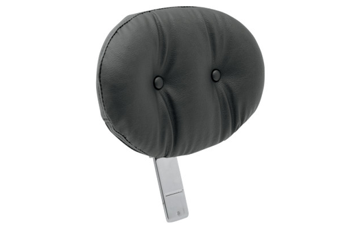 Drag Specialties EZ Glide II™ Backrest -Large Pillow Style w/ Pouch