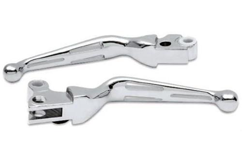 Drag Specialties Replacement Brake Lever for '96-16 Big Twin (Except '08-13 FLHT/FLHR/FLTR/FLHX & H-D FL Trike) & '96-03 XL for 0610-0141 Each (1) Lever