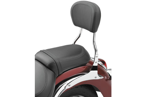 Cobra Backrest Bar Short 12 inch for Vulcan 900 06-Up -Round Style