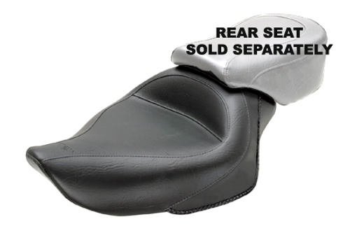 Mustang  Original Solo Seat  for Sportster '04-up (4.5 gallons) -Vintage