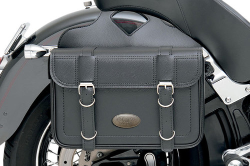 All American Rider Flap Over Saddlebags -X-Large, Plain