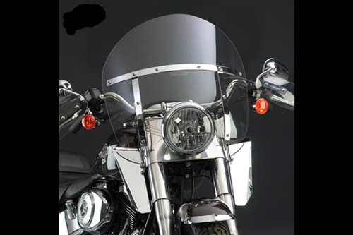 National Cycle SwitchBlade Windshield for Vulcan 2000  '04-Up - Chopped Style, Tinted Not for VN2000 Classic