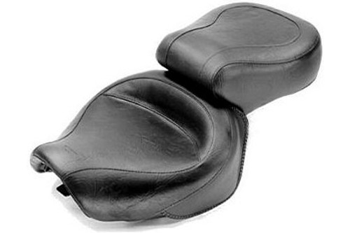 Mustang  One-Piece Seat for 1100 Sabre, Spirit, Shadow & ACE/ACE Tourer Models (Click for Fitment Years) -Wide Vintage