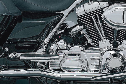 Crusher Performance True Duals for '95-08 FLHR/FLTR/FLHX/FLHR -Chrome HEAD PIPES ONLY-DOES NOT INCLUDE MUFFLERS