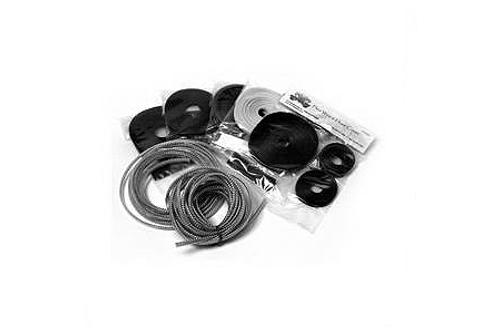 Baron Custom Cable, Hose & Wire Chrome Dress-Up Kit