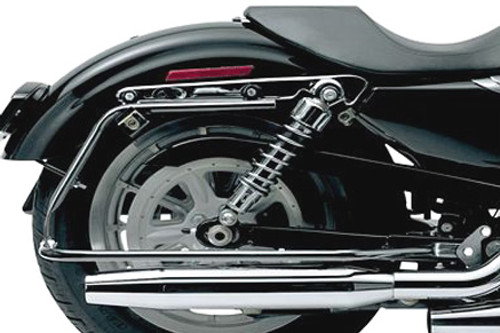 Cycle Visions Bagger-Tail Black bag Mounts for '06-17 Dyna (except FXDB, FXDF & FXDWG)  Saddlebags sold separately