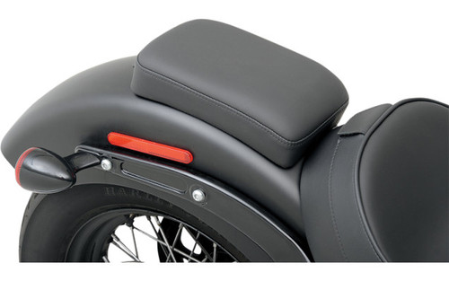 Drag Specialties Optional Rear Seat for Solo w/ Driver Backrest Option for '11-13 FXS & '12-14 FLS -Narrow Smooth