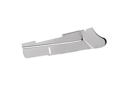 Drag Specialties Chrome Rear Lower Belt Guard for '91-99 FXD Replaces OEM #60399-90A