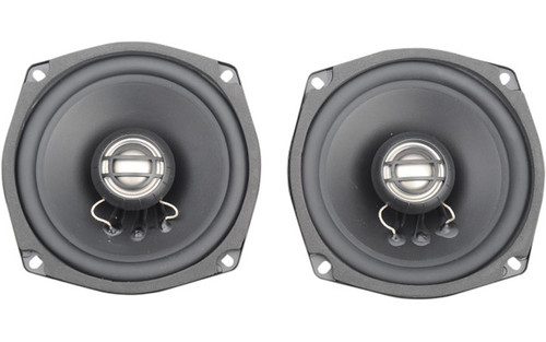 """Hogtunes Generation 3 Replacement Speakers 5.25"""" for '98-05 FLHT/FLHX/FLTR or  '98-13 w/ Car Radios or Amplifliers Installed-Rear, 6 ohm (pr)"""