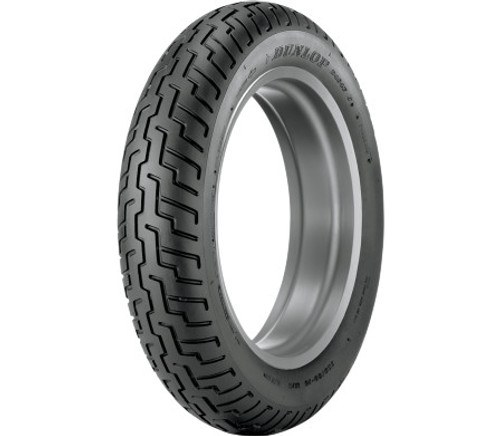 Dunlop Metric Cruiser Tires D404 FRONT 150/80-16 WW (Whitewall) 71H -Each