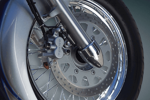 Baron Custom Fork Bullets Axle Nut Covers for Metric Cruisers - Pair (Click for Fitment)