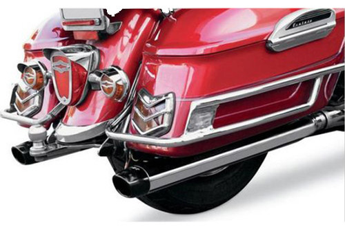 Baron Custom Exhaust 3 inch Slip On Mufflers for '99-13 Royal Star Tour Deluxe & Venture