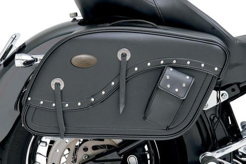 All American Rider Futura 2000 Detachable Slant Saddlebags -XXX-Large, Rivet