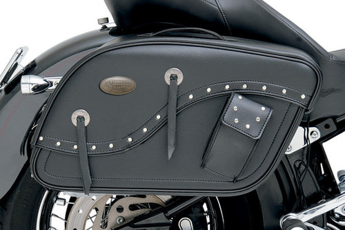 All American Rider Futura 2000 Detachable Slant Saddlebags -XXX-Large, Rivet