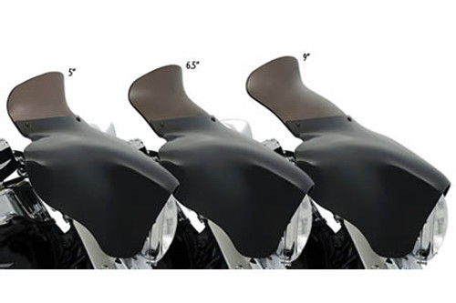Memphis Shades Spoiler Windshield for Memphis Shades Batwing Fairings - 9 Inch