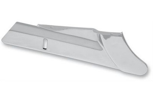 Drag Specialties Chrome Rear Lower Belt Guard for '09-17 FLHT/FLHX/FLHR/FLTR Replaces OEM #60408-09