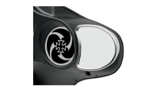 Drag Specialties Fairing Mount Mirrors for '96-13 FLHT & H-D Trike Models -Without Blind Spot Mirror -Pair