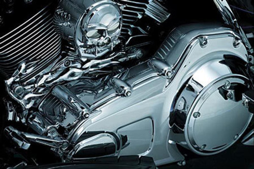 Kuryakyn One-Piece Inner Primary Cover for '09-16 Electra Glides, Road Glides Street Glides, Road Kings & Trikes