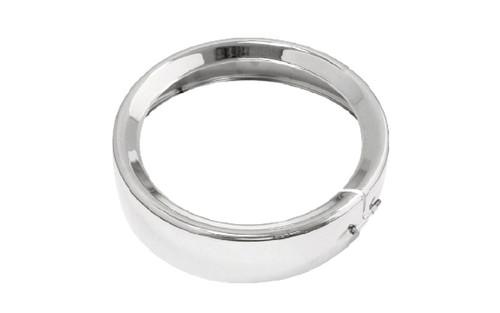 "Bikers Choice  7"" Headlight Trim Ring   -Chrome"