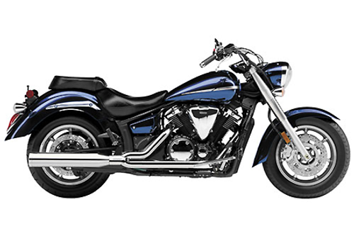 Cobra Power Pro HP  2-into-1 Exhaust for V-Star 1300 '07-up