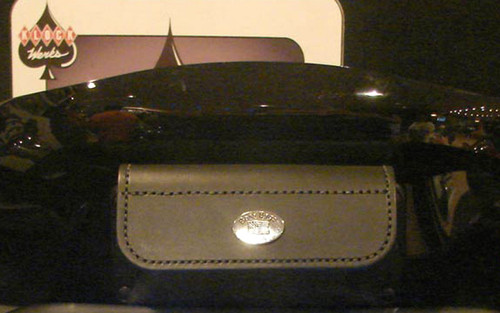 Boss Bags Windshield Pouch for FLH Models with Fairings -#54 Plain