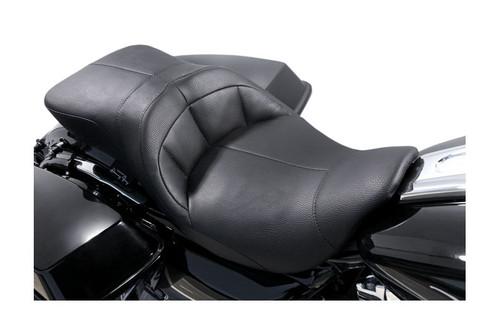 Danny GrayTourIST 2-Up Air Seat for Harley Davidson Touring Models 2008-Up, Black Vinyl