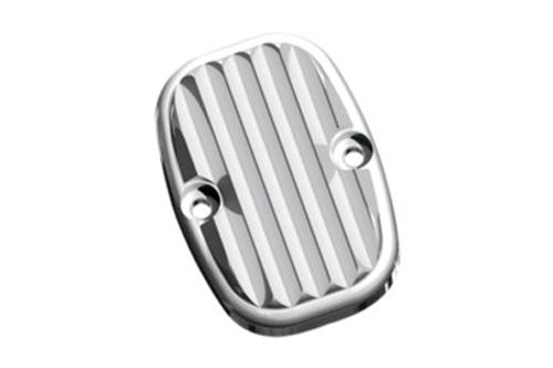Arlen Ness Brake Master Cylinder Covers for '05-07 FLT  & '06-Up Softail -Retro, Rear