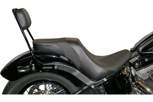 Danny Gray Weekday 2-Up XL Seat for '10-13 FXS/FLS -Plain Smooth Style Does not include sissy bar