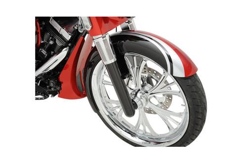 Arlen Ness Hot Legs Fork Set for '14-UP FLHT, FLHR FLHX, FLTR Custom Single-Disc  -Black