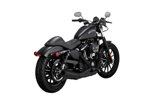 Vance & Hines 2-into-1 Upsweep Exhaust for '07-Up XL Sportster Models - Black