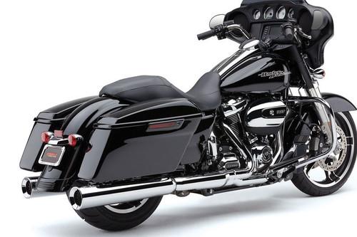 Cobra PowrFlo Slip ons for 2017 Harley Davidson Touring models with Milwaukee 8 motors.