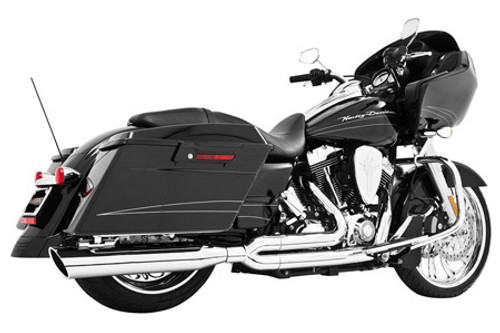 Freedom Performance Exhaust Union 2-Into-1 for '17-Up Harley Davidson Touring Models - Chrome