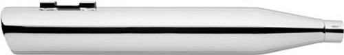 Freedom Performance 4 inch Liberty Slip-On Mufflers for '17-Up FL Models -Chrome w/ Chrome End Cap