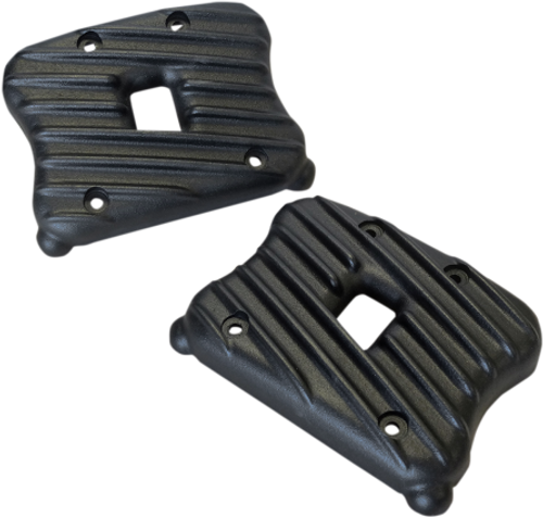 EMD Ribsters Rocker Box Covers for '04 & Up XL Models -Black