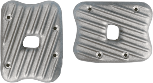 EMD Ribsters Rocker Box Covers for 86-03 XL Models -Raw