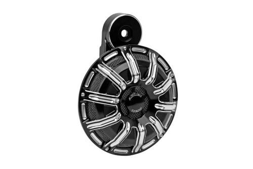 Arlen Ness 10 Gauge Horn - Contrast Black