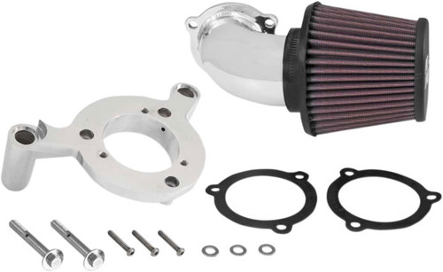 K&N Aircharger Performance Intake System for Harley Davidson Touring Models 2008-2016 & FL Trike w/ Fairing Lowers