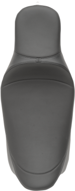 Drag Specialties Seats Extended Reach Predator Seat for Harley Davidson FL Models 2008-Up, Mild Stitch without Backrest Mount