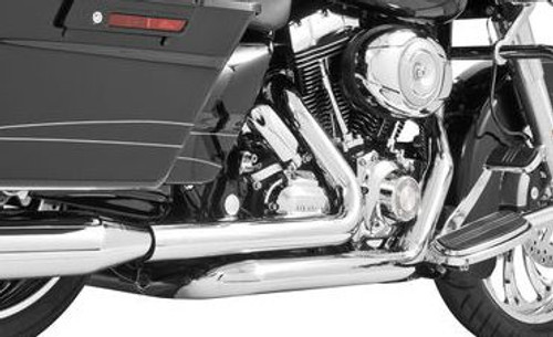 Freedom Performance Right Side Tuck and Under Headers for '17 & Up FL Models -Chrome