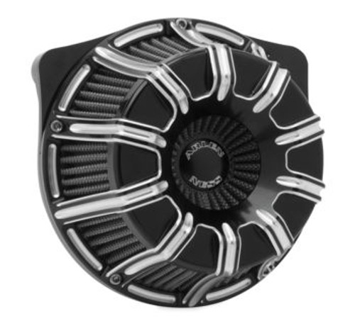 Arlen Ness Inverted Sucker 10-Gauge Series Air Cleaner Kit for Harley Touring  2017-Up, Black