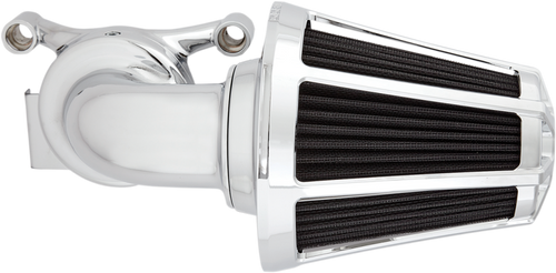 Arlen Ness Monster Sucker Beveled Series Air Cleaner Kits for Harley Touring 2017-Up, Chrome