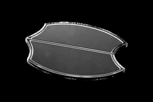Precision Billet Passenger Floorboards for Harley Davidson Touring Models, Razor Edition -Black ...